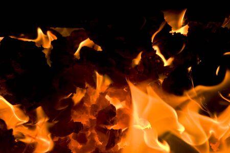 burning embers 6 Stock Photo - 6329472