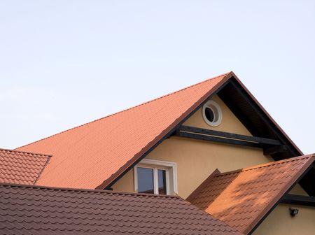 woonwijk: dak
