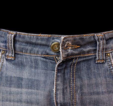 undone: undone trousers Stock Photo