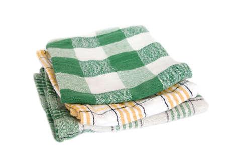 table napkins on white background Stock Photo - 6528911