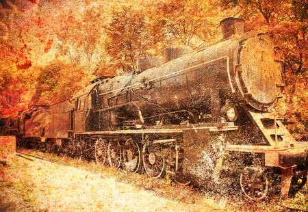 bygone: steam engine, locomotive
