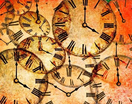 epoch: astratto orologio d'epoca