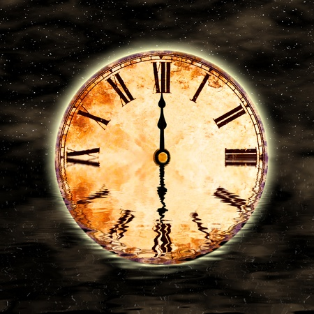 time and space, twelve oclock