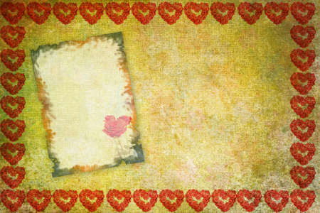 valentine card, color abstract  background photo