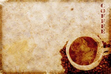 vintage coffee motive Stock Photo - 8939660