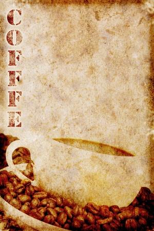 vintage coffee motive