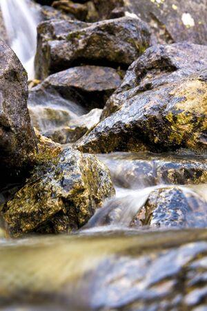 lovely little rock stream Stock Photo