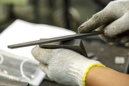 manual part grinding