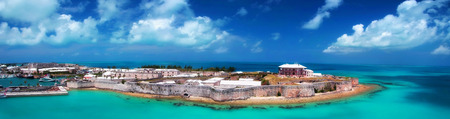 king palace: Royal Naval Dockyard,  Kings wharf, Bermuda Editorial