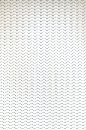 absract art: Beautiful relief backdrop of wavy empty white color wall for interior or exterior of building with no people Stock Photo