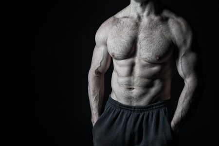 Muscle men hairy 34 Handsome