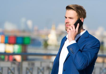 Businessman or ceo urban fashion.