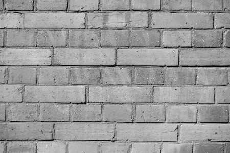 Background of old brown vintage brick wall Stock Photo