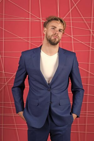 Businessman. serious man. Feel the success. Business fashion and dress code. confident businessman in suit. Male formal fashion. sexy man in stylish jacket. Need your advice