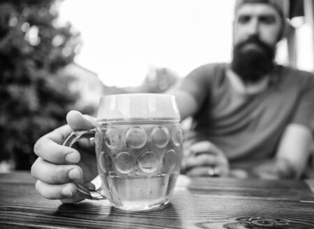 Craft beer is young, urban and fashionable Stok Fotoğraf