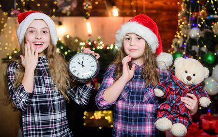 Remember these moments. Elf children. Xmas children. Christmas time. Elf children. Little girl sisters. Christmas elf. Happy new year. Children like elf character. Santa little girl sisters. Its soon