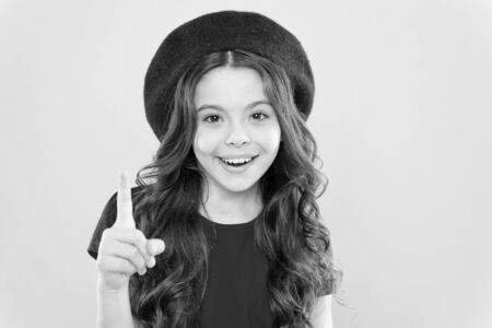 Emotional expression. Playful teen model. Acting skills concept. Tips and tricks to loosen up in front of camera. Acting school for children. Girl artistic kid practicing acting skill. Acting academy
