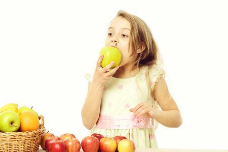 dieting and healthy food, vegetarian and vitamin Stock fotó