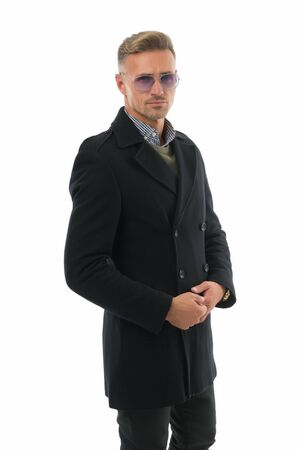Fashion shop. Attractive mature man. Mature guy with grey hair and bristle. Fashion outfit for business. Fashionable model businessman. Fashion guy demonstrate clothes. Luxury design clothes