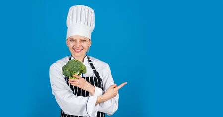 Fresh tasty broccoli. Organic vegetables concept. Kraft grocery shopping. Healthy diet and vegan. dietary and healthy lifestyle. copy space. delicious homemade food recipe. how to cook broccoli