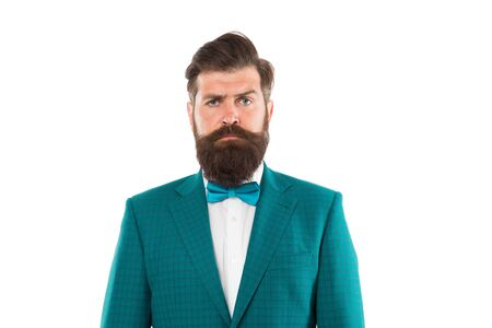 Business Suits for Men. male fashion model posing. Handsome brunette model with beard and moustache. Business man portrait. Perfect suit. bearded man in expensive suit. Handsome young businessman