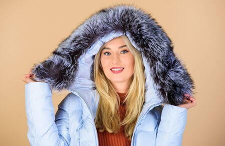 Fashion coat. Warming up. Casual winter jacket more stylish have more comfort features. Designed for your comfort. Fashion girl winter clothes. Fashion trend. Female fashion. Clothes shop. Buy online
