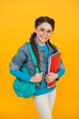 Education remains within you forever. Happy kid back to school. Compulsory primary education. Education and study. Home schooling. Private teaching. Grow your mind, feed it with education