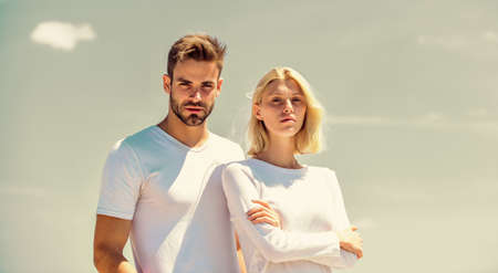 fashion concept. understanding and support. they have relationship problems. couple in love. married in heaven. Social problem. Betrayal and divorce. family psychology. interpersonal relationship Stock fotó