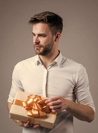 New arrivals. real happiness. crazy party man on happy holiday. fathers day concept. handsome cheerful young man with smile having fun on party. people and joy. birthday and celebration concept
