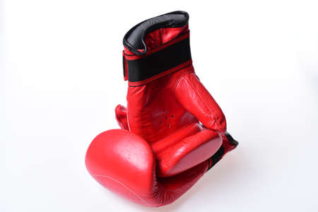 Leather box equipment for fight and training