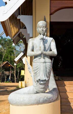 Sculpture at Thai temple