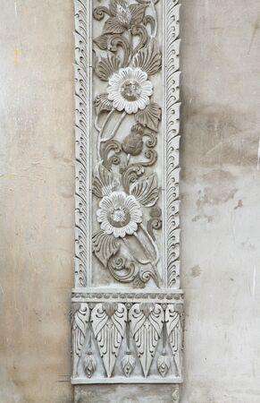 Thai style stucco