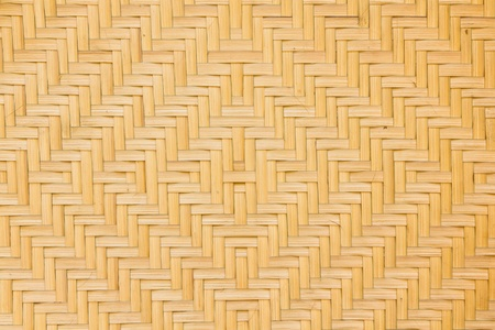 Texture of Bamboo Basketry Stock Photo