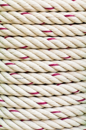 Close up shot of a rope background