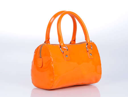 Fashionable and stylish walking handbag for woman. Studio shoot. Stock fotó