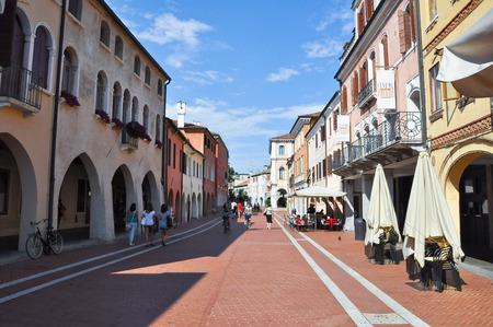 ヴェネツィア ・ メストレ-7 月 26 メストレ 7 月 26,2013 イタリア ベニス ・ メストレのベニス, イタリア、ヴェネト州ベニス市の領土の一部の本土の最