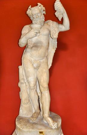 bacchus: Staue of Dionysus or Bacchus in Vatican museum.