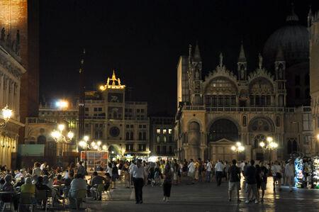 st  mark s: Piazza San Marco s di notte il 22 luglio 2012 a Venezia, Italia