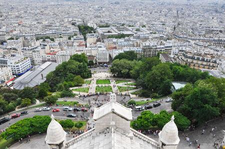 Paris as seen from the Basilica of the Sacré Cœur, Montmartre