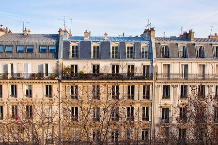 attics: Apartments on January 15, 2013 in Paris  Editorial