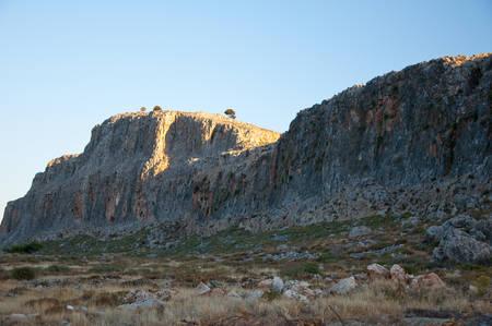 Mountains on Rhodes island, Greece  photo