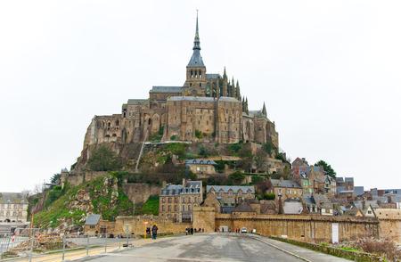 Saint Michael s Mount  Normandy, France  photo