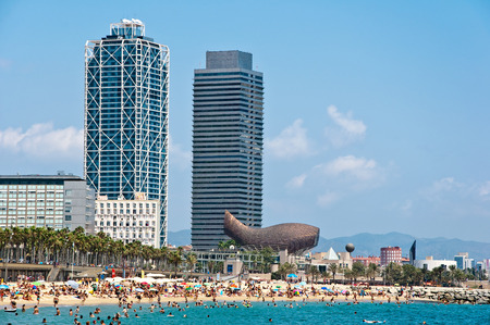 The Barceloneta beach  photo