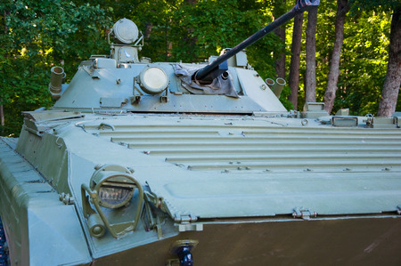 infantry: An infantry fighting vehicle