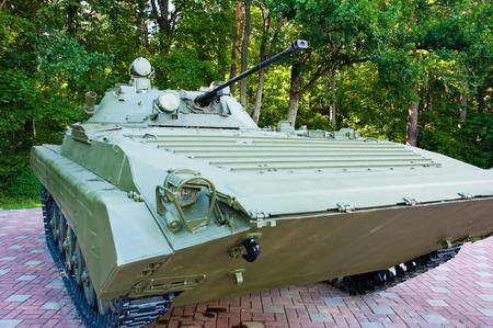 infantry: Mechanized infantry combat vehicle  Stock Photo