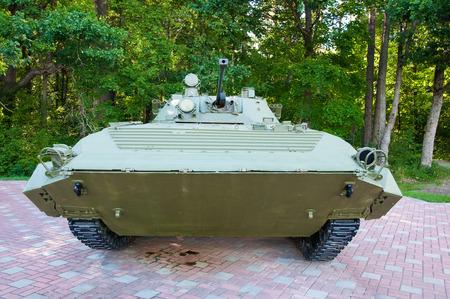 infantry: Russian mechanized infantry combat vehicle  Stock Photo
