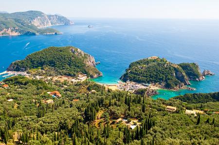 corfu: The bay of Palaiokastritsa. Corfu, Greece.