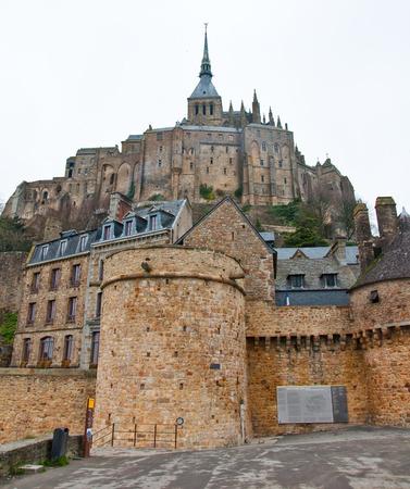 st michel: Saint Michael Mount. Normandy, France.