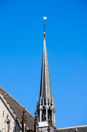broach: The broach of the New Church in Amsterdam, Netherlands.