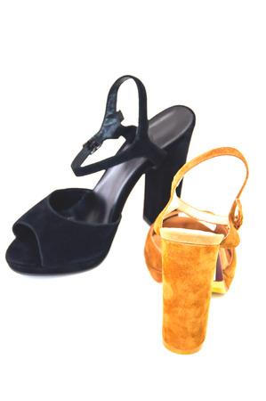 opentoe: Womens open-toe isolated on white background.
